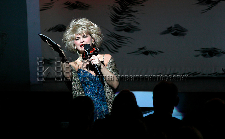 ***EXCLUSIVE COVERAGE***.Mary Birdsong (Joan Rivers ) on stage during a performance of the Broadway Show Martin Short: Fame Becomes Me at the Bernard B. Jacobs Theatre on December 14, 2006 in New York City. © Walter McBride /