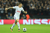 1st November 2017, Wembley Stadium, London, England; UEFA Champions League, Tottenham Hotspur versus Real Madrid; Kieran Trippier of Tottenham Hotspur