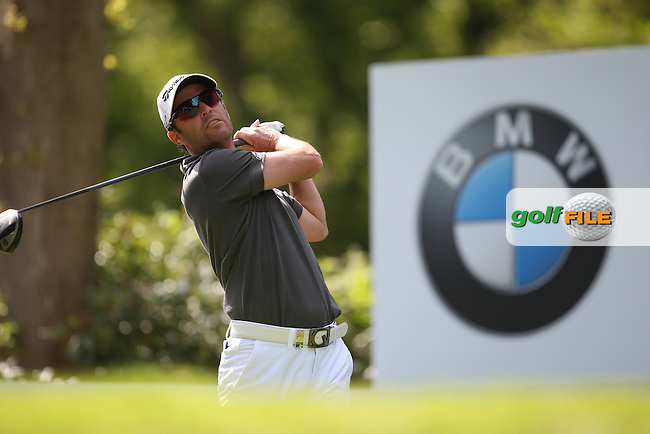 Miles Tunniclife (ENG) during Round One of the 2015 BMW PGA Championship over the West Course at Wentworth, Virginia Water, London. 21/05/2015Picture David Lloyd, www.golffile.ie.
