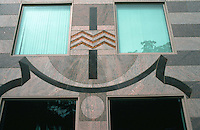 Boston:  One Bowdoin Square--detail.  Post-Modern.  Architect Graham Gund.  Photo '91.