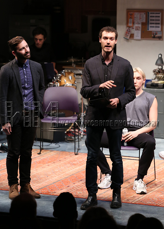 Oliver Houser during the 2018 Presentation of New Works by the DGF Fellows on October 15, 2018 at the Playwrights Horizons Theatre in New York City.