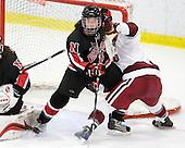Kasey Cedorchuk (NU - 12), ? - The Harvard University Crimson defeated the Northeastern University Huskies 1-0 to win the 2010 Beanpot on Tuesday, February 9, 2010, at the Bright Hockey Center in Cambridge, Massachusetts.