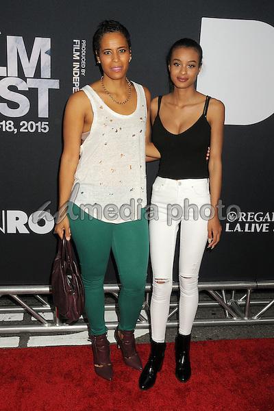 "8 June 2015 - Los Angeles, California - Daphne Wayans, Nala Wayans. LA Film Festival 2015 Premiere of ""Dope"" held at Regal Cinemas L.A. Live. Photo Credit: Byron Purvis/AdMedia"