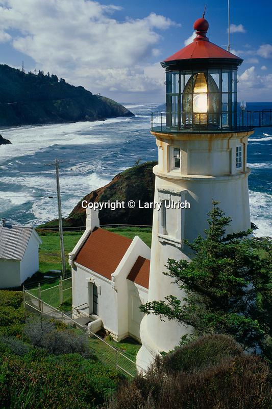 Heceta Head Lighthouse<br /> Devils Elbow State Park<br /> Oregon