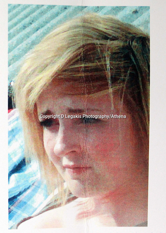 Pictured: Family handout picture of Rebecca Aylward whose body was discovered in woods at Aberkenfig near Bridgend south Wales in October 2010. STOCK PICTURE<br />