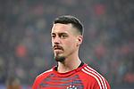 12.01.2018, BayArena, Leverkusen , GER, 1.FBL., Bayer 04 Leverkusen vs. FC Bayern M&uuml;nchen<br /> im Bild / picture shows: <br /> Sandro Wagner (Bayern Muenchen #2),  Portrait, <br /> <br /> <br /> Foto &copy; nordphoto / Meuter