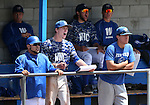 Western Nevada's bench watches the action against College of Southern Nevada at Western Nevada College in Carson City, Nev. on Friday, May 6, 2016. <br />Photo by Cathleen Allison/Nevada Photo Source