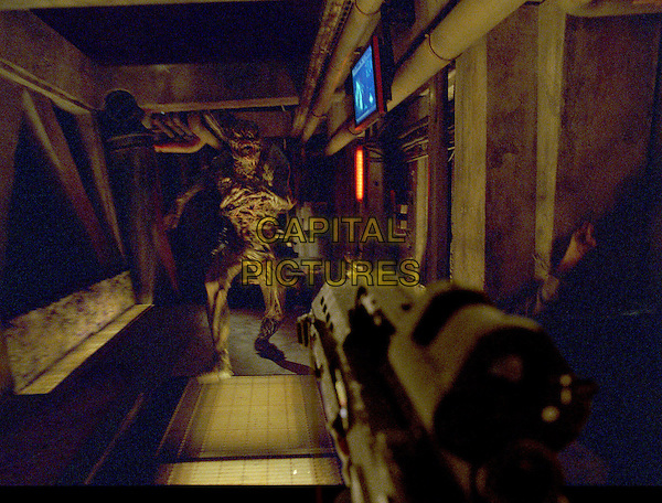 FPS (First Person Shooter).in Doom.*Editorial Use Only*.www.capitalpictures.com.sales@capitalpictures.com.Supplied by Capital Pictures.