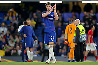 Chelsea's Gary Cahill applauds the home fans at the end of the match during Chelsea vs MOL Vidi, UEFA Europa League Football at Stamford Bridge on 4th October 2018