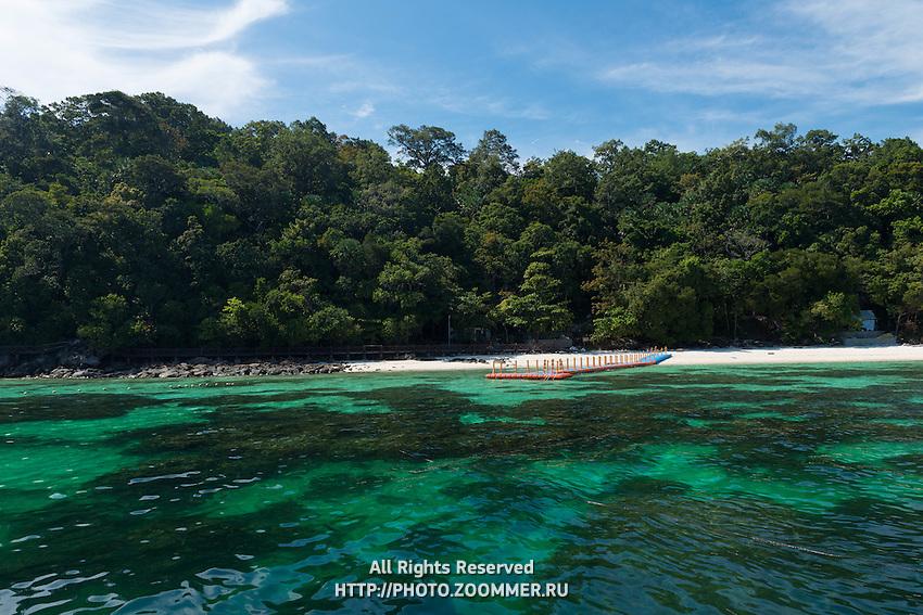 Pulau Payar Marine Park Beautiful Water And Reef, Malaysia
