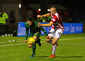 8th September 2017, SuperSeal Stadium, Hamilton, Scotland; Scottish Premier League football, Hamilton versus Celtic; Celtic's Patrick Roberts battles with Darian Mackinnon