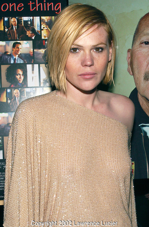 Actress Clea Duvall arrives at the premier of 13 Conversations About One Thing May 7, 2002 in New York City. .