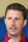 14 March 2008: United States Men's National Team assistant coach Mike Sorber. The United States U-23 Men's National Team held media interviews at the Doubletree Guest Suites Tampa Bay in Tampa, FL during the 2008 CONCACAF's Men's Olympic Qualifying Tournament.