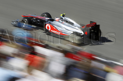 10 06 2011  FIA Formula One World Championship 2011 Grand Prix of Canada 04 Jenson Button GBR Vodafone McLaren Mercedes Formula 1 F1 F World Cup GP Canada Montreal
