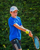Hilversum, Netherlands, August 7, 2017, National Junior Championships, NJK, Antoni Clarijs<br /> Photo: Tennisimages/Henk Koster
