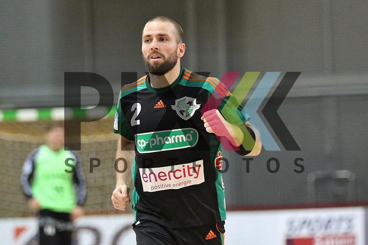 Bremen, 09.08.15, Sport, Handball, Erima-Cup 2015, MT Melsungen-TSV Hannover-Burgdorf : Torge Johannsen (TSV Hannover-Burgdorf, #02)<br /> <br /> Foto &copy; P-I-X.org *** Foto ist honorarpflichtig! *** Auf Anfrage in hoeherer Qualitaet/Aufloesung. Belegexemplar erbeten. Veroeffentlichung ausschliesslich fuer journalistisch-publizistische Zwecke. For editorial use only.