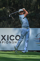 Rickie Fowler (USA) watches his tee shot on 16 during the preview of the World Golf Championships, Mexico, Club De Golf Chapultepec, Mexico City, Mexico. 2/28/2018.<br /> Picture: Golffile | Ken Murray<br /> <br /> <br /> All photo usage must carry mandatory copyright credit (&copy; Golffile | Ken Murray)