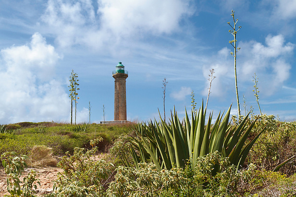 Lighthouse on Les Îles de la Petite Terre ( Islands of the Small Land)