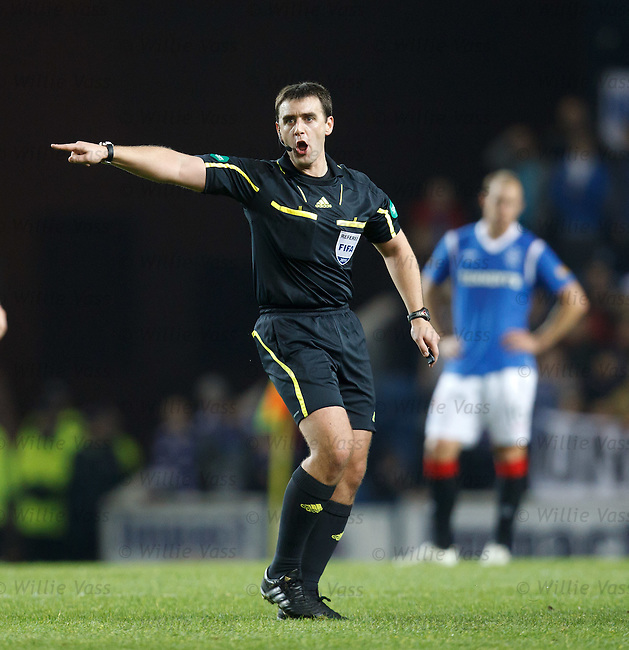 Referee Euan Norris