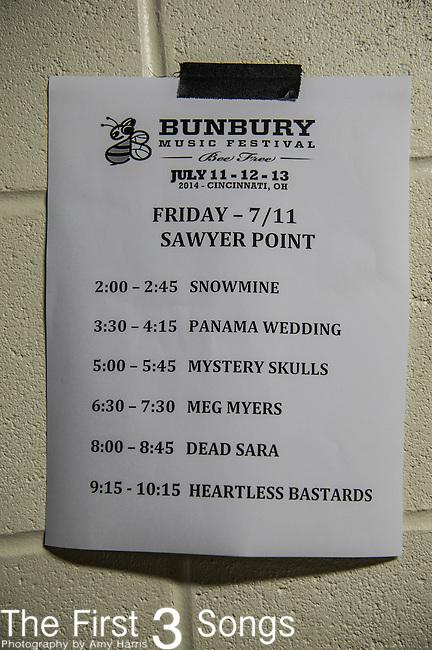 Dead Sara performs at the 2014 Bunbury Music Festival in Cincinnati, Ohio