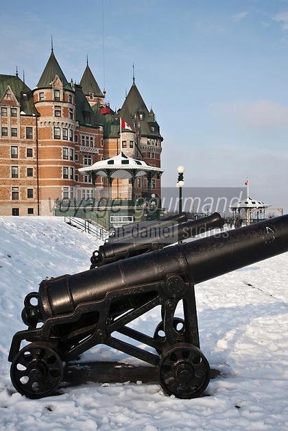 Amérique/Amérique du Nord/Canada/Québec/ Québec:<br /> Château Frontenac  vu depuis le belvédère de la terrasse Dufferin