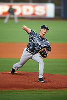 Tampa Yankees starting pitcher Brian Keller (38) delivers a pitch during the second game of a doubleheader against the Charlotte Stone Crabs on July 18, 2017 at Charlotte Sports Park in Port Charlotte, Florida.  Charlotte defeated Tampa 2-1.  (Mike Janes/Four Seam Images)