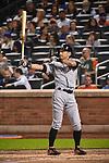 Ichiro Suzuki (Marlins),<br /> SEPTEMBER 14, 2015 - MLB :<br /> Ichiro Suzuki of the Miami Marlins at bat in the third inning during the Major League Baseball game against the New York Mets at Citi Field in Flushing, New York, United States. (Photo by Hiroaki Yamaguchi/AFLO)