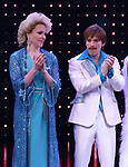 Emily Skinner and Jarrod Spector during the Broadway Opening Night Curtain Call of 'The Cher Show'  at Neil Simon Theatre on December 3, 2018 in New York City.