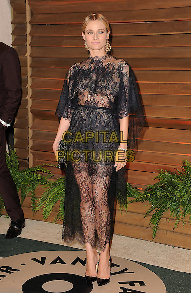 WEST HOLLYWOOD, CA - MARCH 2: Diane Kruger arrives at the 2014 Vanity Fair Oscar Party in West Hollywood, California on March 2, 2014.<br /> CAP/MPI<br /> &copy;MPI213/MediaPunch/Capital Pictures