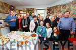 Noreen O'Connell seated front centre from An Tig Gaeghealach(The Irish House) in Cahersiveen celebrated her 100th birthday on Saturday pictured here with family and friends in her home.