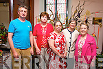 Gerard Sugrue, Eileen O'Shea, Helen Martin, Ann McKenzie, Maura Lawlor at the Flower and Music Festival weekend at St. John the Evangelist, Church Ashe St on Sunday