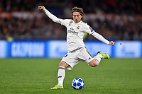 Luka Modric Real<br />  during the Uefa Champions League 2018/2019 Group G football match between AS Roma and Real Madrid at Olimpico stadium Allianz Stadium, Rome, November, 27, 2018 <br />  Foto Antonietta Baldassarre / Insidefoto