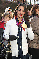NEW YORK, NY - NOVEMBER 22: Aly Raisman at the 86th Annual Macy's Thanksgiving Day Parade on November 22, 2012 in New York City. Credit: RW/MediaPunch Inc. /NortePhoto