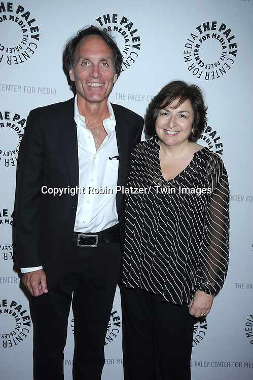 Executive Producer Chris Goutman and Head Writer Jean Passanante attending the Farewell to As the World Turns at the Paley Center for Media on August 18, 2010 in New York City.