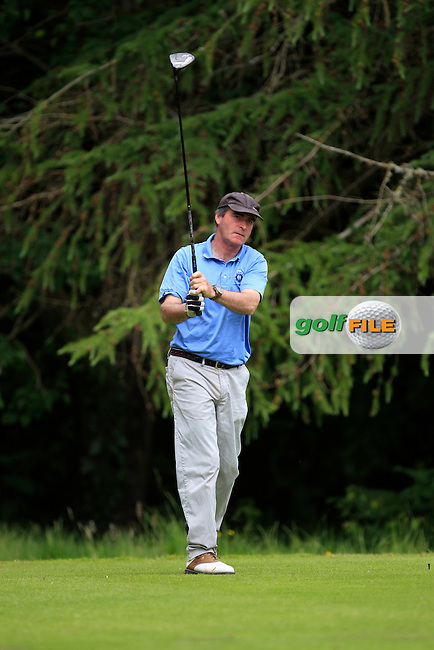Patrick Comerford (Corrstown) on the 8th tee during Round 1 of the Leinster Seniors Amateur Open Championship at Enniscorthy Golf Club on Tuesday 23rd June 2015.<br /> Picture:  Thos Caffrey / www.golffile.ie