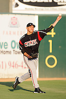Juan Oramas of the Lake Elsinore Storm during game against the Lancaster JetHawks at Clear Channel Stadium in Lancaster,California on September 1, 2010. Photo by Larry Goren/Four Seam Images