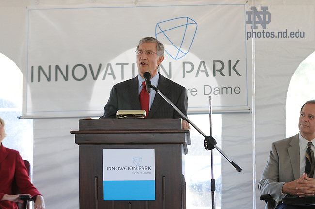 Innovation Park groundbreaking, Sept. 26, 2008..Photo by Joe Raymond