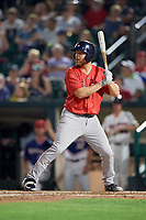 Pawtucket Red Sox designated hitter Adam Lind (30) at bat during a game against the Rochester Red Wings on July 4, 2018 at Frontier Field in Rochester, New York.  Pawtucket defeated Rochester 6-5.  (Mike Janes/Four Seam Images)