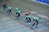 SCHAATSEN:THIALF: 01-06-2013, 1e training zomerijs schaatsteam TVM, ©foto Martin de Jong