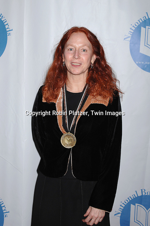 Kathleen Duey..at The National Book Awards on November 14, 2007 at ..the Marriott Marquis Hotel in New York, The event was hosted by Fran Lebowitz...Robin Platzer, Twin Images......