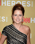 HOLLYWOOD, CA. - November 21: Jenna Fischer attends the 2009 CNN Heroes Awards held at The Kodak Theatre on November 21, 2009 in Hollywood, California.