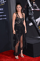 LOS ANGELES, CA. February 05, 2019: Rosa Salazar at the premiere for &quot;Alita: Battle Angel&quot; at the Regency Village Theatre, Westwood.<br /> Picture: Paul Smith/Featureflash