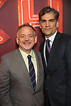 "Marc Shaiman and Louis Mirabal attends the Broadway Opening Night of ""Torch Song"" at the Hayes Theater on Noveber 1, 2018 in New York City."