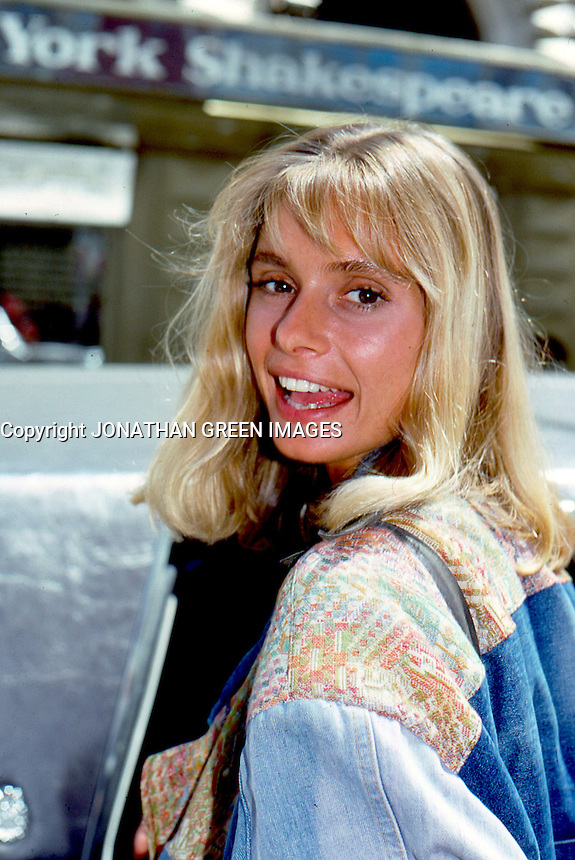 Maryam D'abo 1987 By Jonathan Green