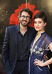 "Josh Groban and Schuyler Helford attends the Broadway Opening Night Performance of ""Hadestown"" at the Walter Kerr Theatre on April 17, 2019  in New York City."