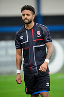 Lincoln City's Bruno Andrade during the pre-match warm-up<br /> <br /> Photographer Chris Vaughan/CameraSport<br /> <br /> Football Pre-Season Friendly (Community Festival of Lincolnshire) - Lincoln City v Lincoln United - Saturday 6th July 2019 - The Martin & Co Arena - Gainsborough<br /> <br /> World Copyright © 2018 CameraSport. All rights reserved. 43 Linden Ave. Countesthorpe. Leicester. England. LE8 5PG - Tel: +44 (0) 116 277 4147 - admin@camerasport.com - www.camerasport.com