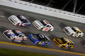 #20: Christopher Bell, Joe Gibbs Racing, Toyota Camry GameStop PDP #42: Kyle Larson, Chip Ganassi Racing, Chevrolet Camaro DC Solar