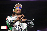 PHILADELPHIA, PA - OCTOBER 28 :  Wiz Khalifa performing at Powerhouse 2016 at the Wells Fargo Center in Philadelphia, Pa on October 28, 2016  photo credit Star Shooter/MediaPunch