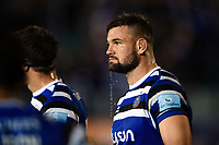 Elliott Stooke of Bath Rugby looks dejected after the match. Gallagher Premiership match, between Bath Rugby and Exeter Chiefs on October 5, 2018 at the Recreation Ground in Bath, England. Photo by: Patrick Khachfe / Onside Images