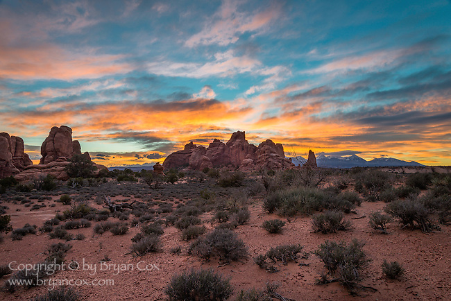 Sunrise, Arches National Park